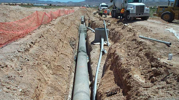 LVVWD C-1088 Valley View Boulevard 2430 Zone South Pipeline Phase II